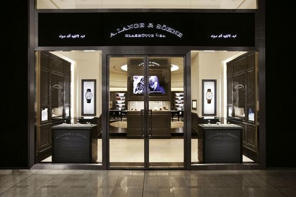 朗格迪拜购物中心专卖店图片