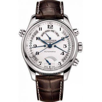 动力储存显示手表 飞返星期、飞返日期、飞返第二时区24小时显示