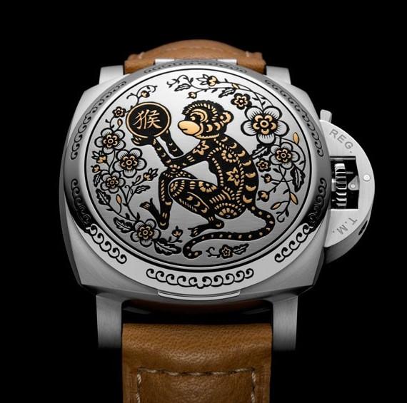 沛纳海推出第八枚生肖腕表系列——猴年限量版腕表