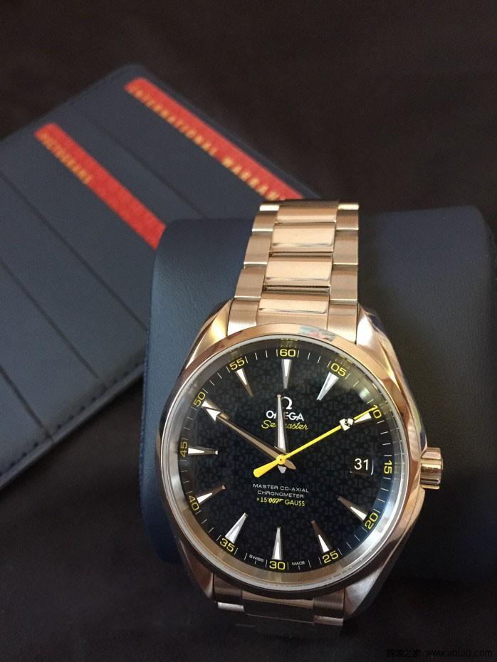 欧米茄007限量版腕表,风靡全球的神秘特工标配图片