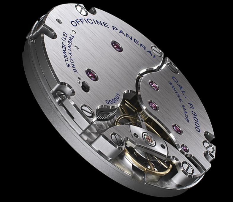 沛纳海自产机芯沛纳海手表机芯 p.3000介绍,图片及表款价格
