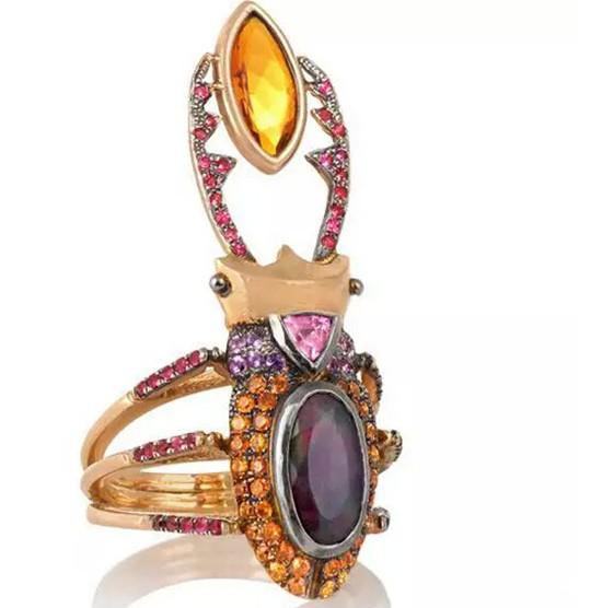 10种绚丽创新动物珠宝,你看着心动了吗?