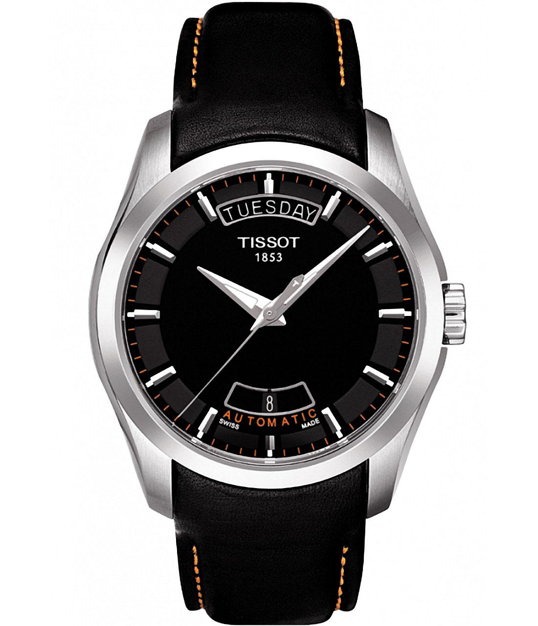 天梭TISSOT-库图系列 T035.407.16.051.01 机械男表
