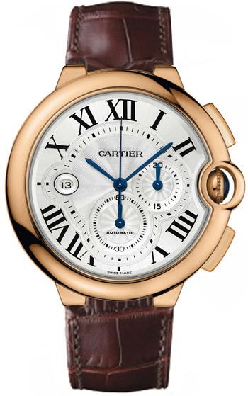 卡地亚蓝气球玫瑰金表壳手表大全 正品卡地亚手表价格