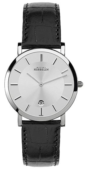 男士皮带手表 超薄表款推荐:法国赫柏林-Epsilon 灵动系列