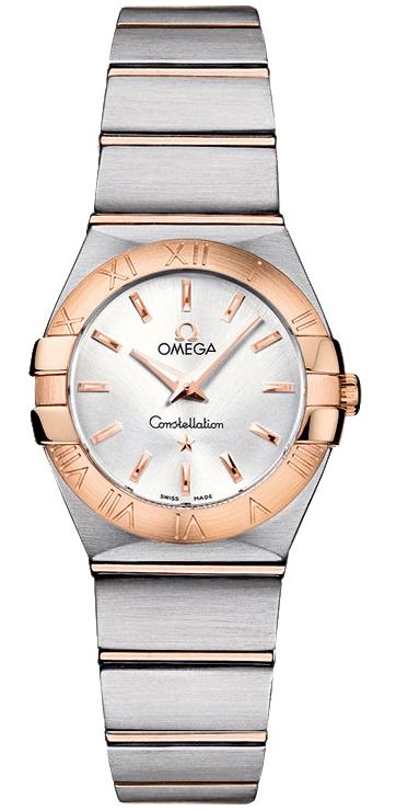 欧米茄Omega-星座系列 123.20.24.60.02.001 女士石英表