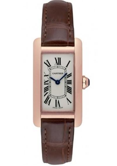 卡地亚Cartier-TANK系列 W2607456 女士石英表