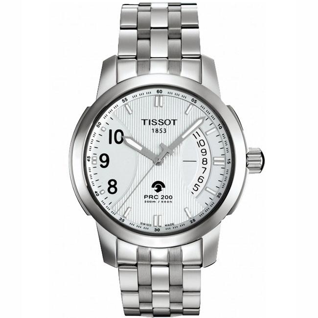 天梭TISSOT-PRC200系列 T014.421.11.037.00 男士人动电能表