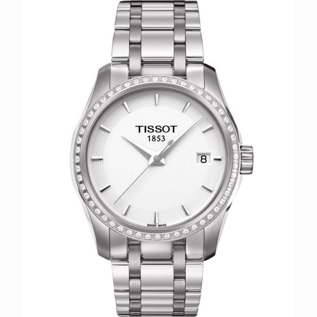 天梭TISSOT-库图系列 T035.210.61.011.00 女士石英表