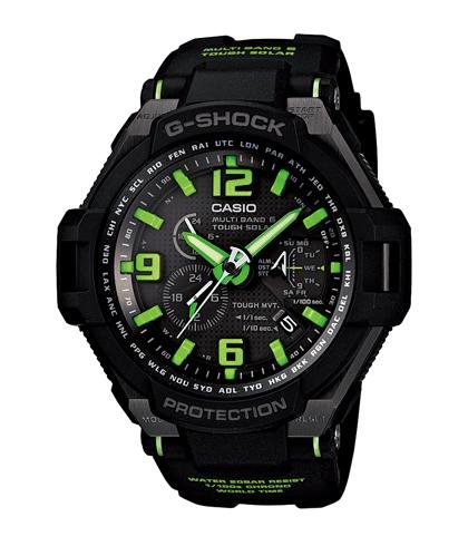 卡西欧CASIO-G-SHOCK系列 GW-4000-1A3 男士太阳能动力表