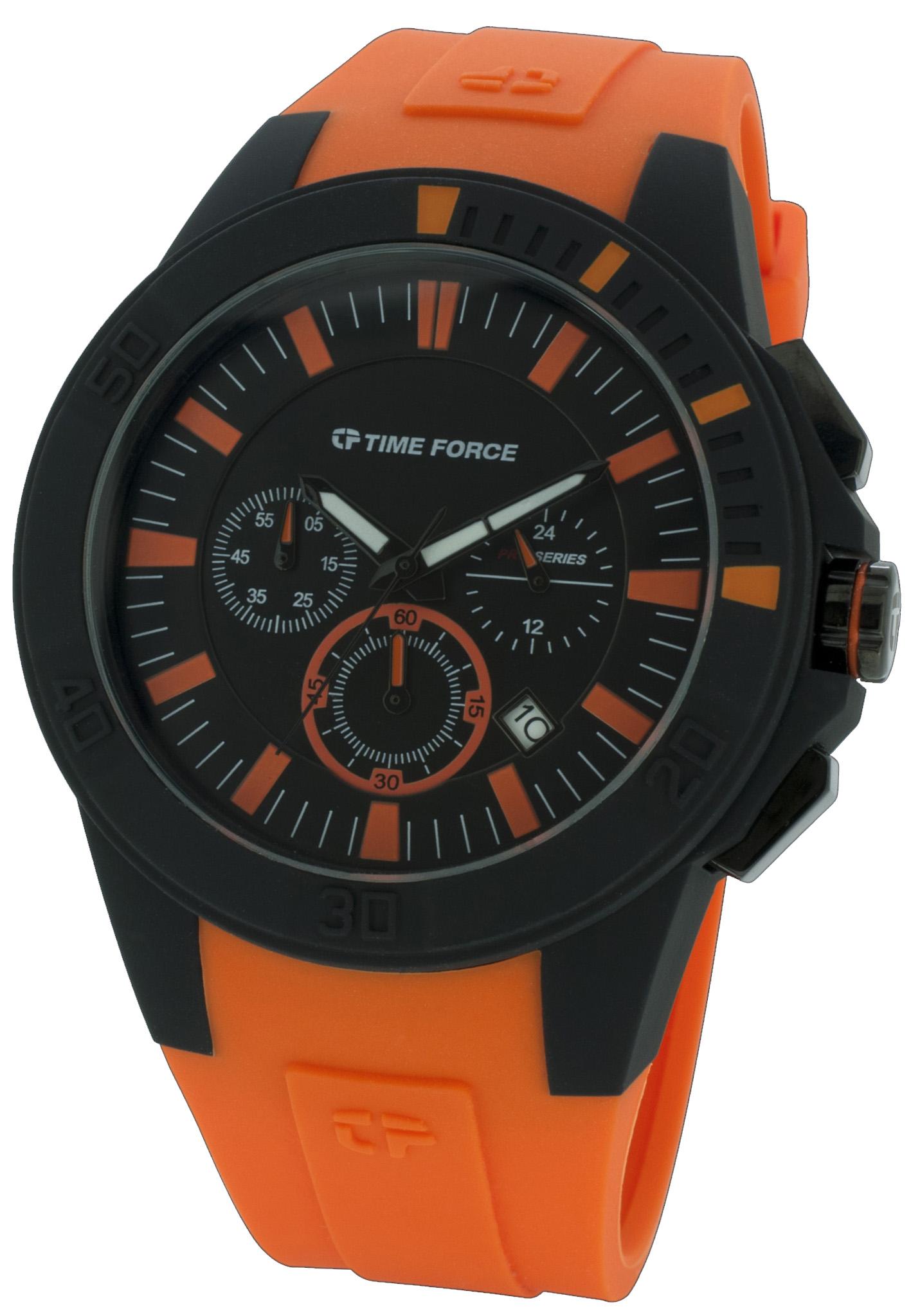 C罗表:Time Force-Sport系列 TF4055M02 男士石英表