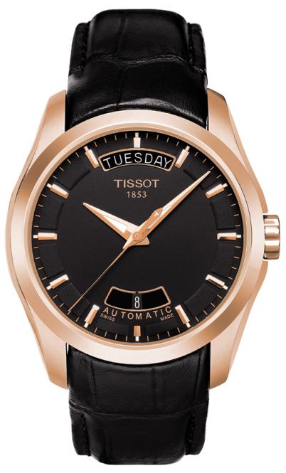 天梭TISSOT-库图系列 T035.407.36.051.00 机械男表