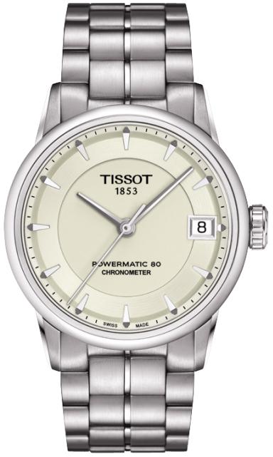 天梭-Luxury系列 T086.208.11.261.00 机械女表