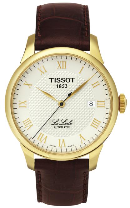 天梭TISSOT-力洛克系列 T41.5.413.73 男士机械表