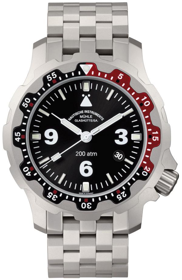 格拉苏蒂·莫勒Nautical Wristwatches系列 M1-28-83-MB 机械男表