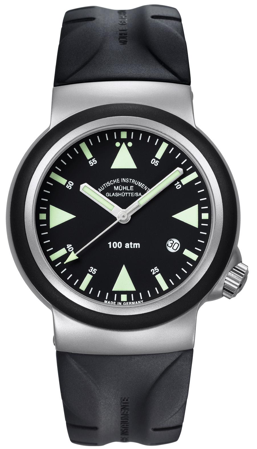 格拉苏蒂·莫勒Nautical Wristwatches系列 M1-41-03-KB 机械男表