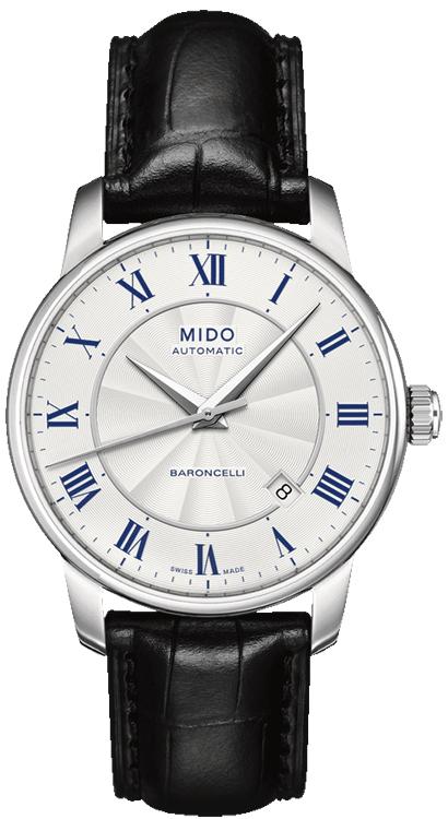 美度MIDO-贝伦赛丽 BARONCELLI系列 M8600.4.21.4 机械男表