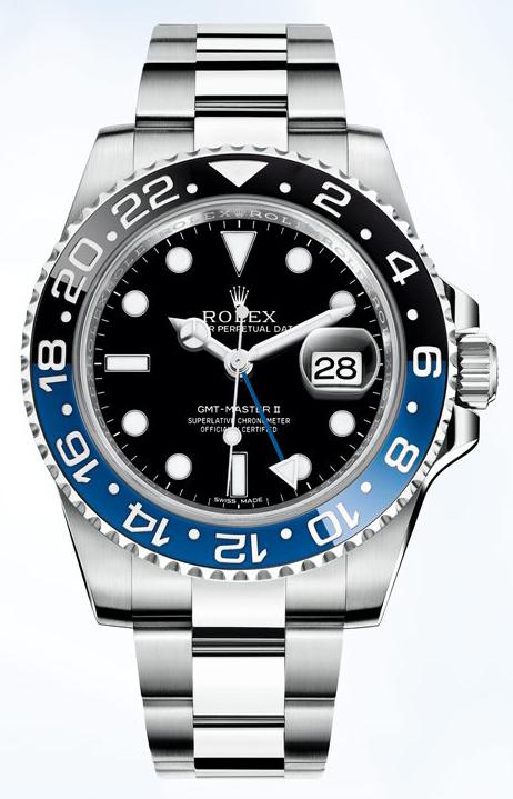 劳力士Rolex-格林威治型II系列 116710blnr 机械男表