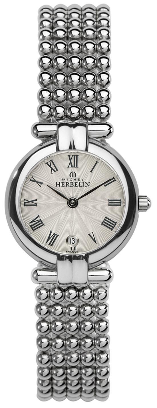 2014年女表销售冠军!!法国精致腕表品牌:赫柏林-Perles 珍珠系列 16873/B08 女士石英表