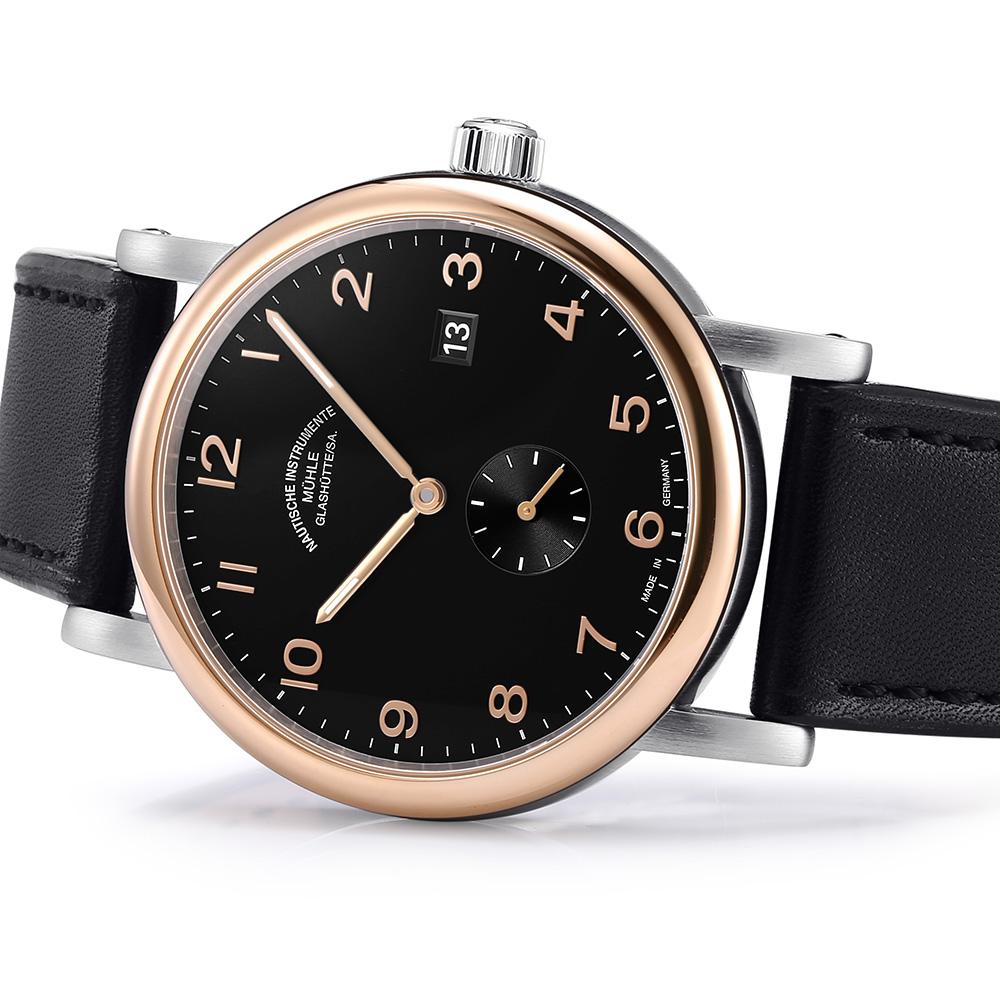 格拉苏蒂·莫勒Muehle·Glashuette Classical Timepieces 经典系列 M1-39-67-LB 机械男表