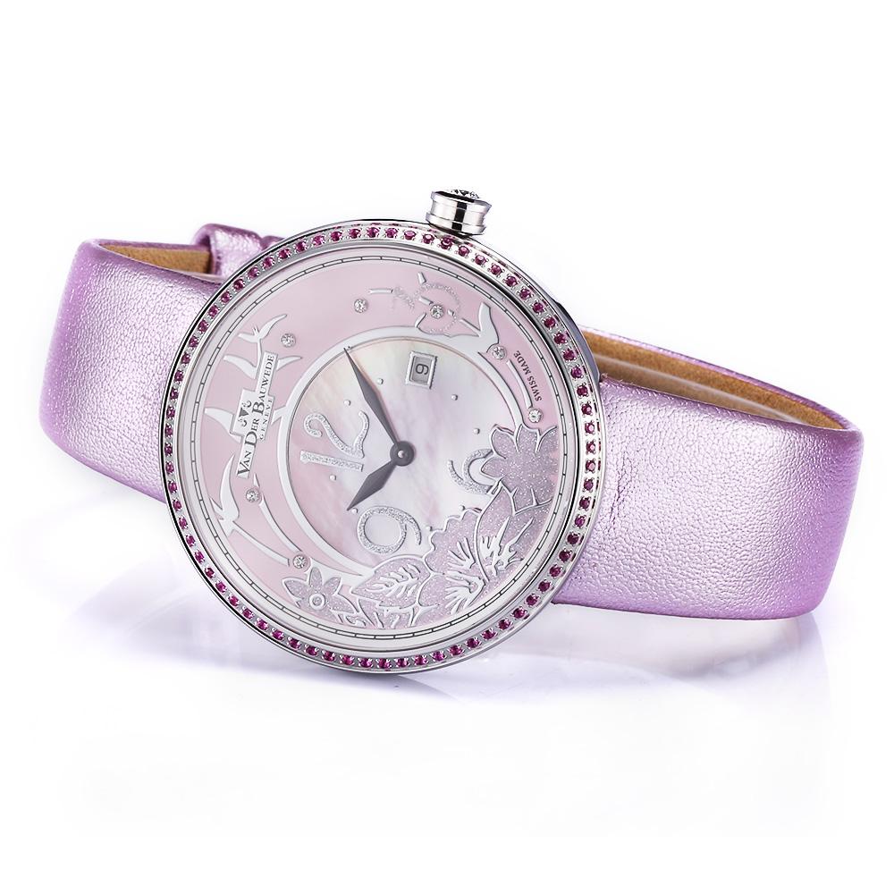 好看的女手表有哪些?瑞士梵德宝,腕上的色彩艺术家