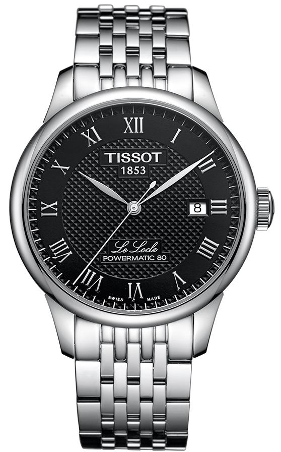 天梭TISSOT-力洛克系列 T006.407.11.053.00 機械男表