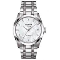 天梭TISSOT-库图系列 T035.207.11.116.00 机械女表