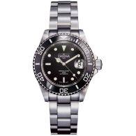 瑞士迪沃斯(DAVOSA)-Diving 潜水系列 Ternos特勒斯 HC/200-黑 16155550 机械潜水男表