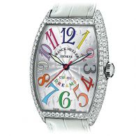 法穆兰FRANCK MULLER-COLOR DREAMS系列7502 QZD CODR 女士石英表
