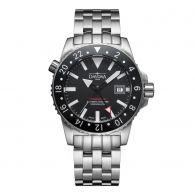 赠送价值400元原装NATO表带!瑞士迪沃斯(DAVOSA)-Argonautic Dual Time Diving 阿尔戈水手系列Argonautic Dual Time 双时区 16151220 机械男表