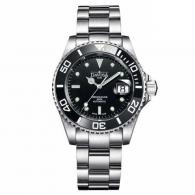 爆款黑蛟龙!!瑞士进口 迪沃斯DAVOSA-Diving 潜水系列 Ternos特勒斯 HC/200-黑 16155550 机械潜水、商务男表