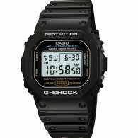 【特惠商品一口价!不参加用券】卡西欧CASIO-G-SHOCK系列 DW-5600E-1VPF 运动液晶男表