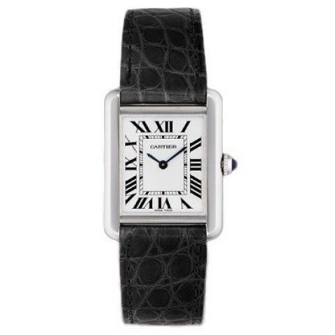 卡地亚-TANK SOLO系列 W5200005 女士石英表 简约低调的现代设计 TANK SOLO腕表