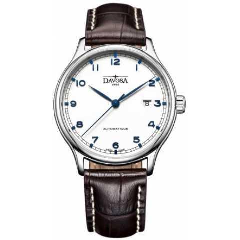 【特卖!!】瑞士迪沃斯(DAVOSA) -Gentleman 绅士系列 Classic 经典之作 16145615 机械男表