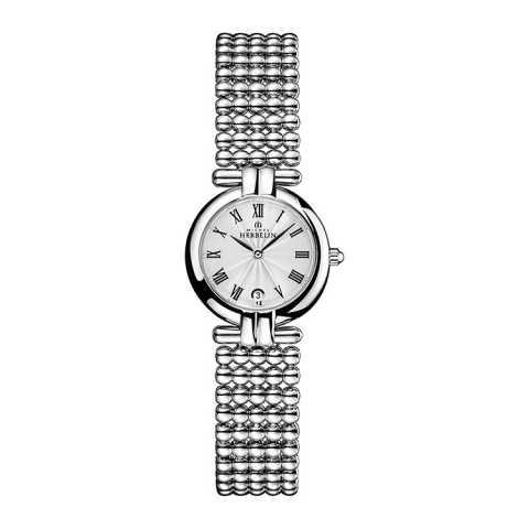 法国总统夫人之选 法国优雅腕表品牌:赫柏林Michel Herbelin-Perles 珍珠系列 巴黎恋人 16873/B08 女士腕表