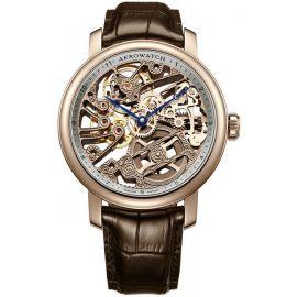 爱罗Aerowatch-Renaissance复古系列 腾云镂空 A 50931 RO01 机械男表