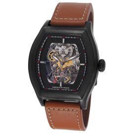 法国复古时尚腕表品牌:雍加毕索Yonger&Bresson-Beaumesnil Chenonceau系列 YBH 8365-17 机械男表