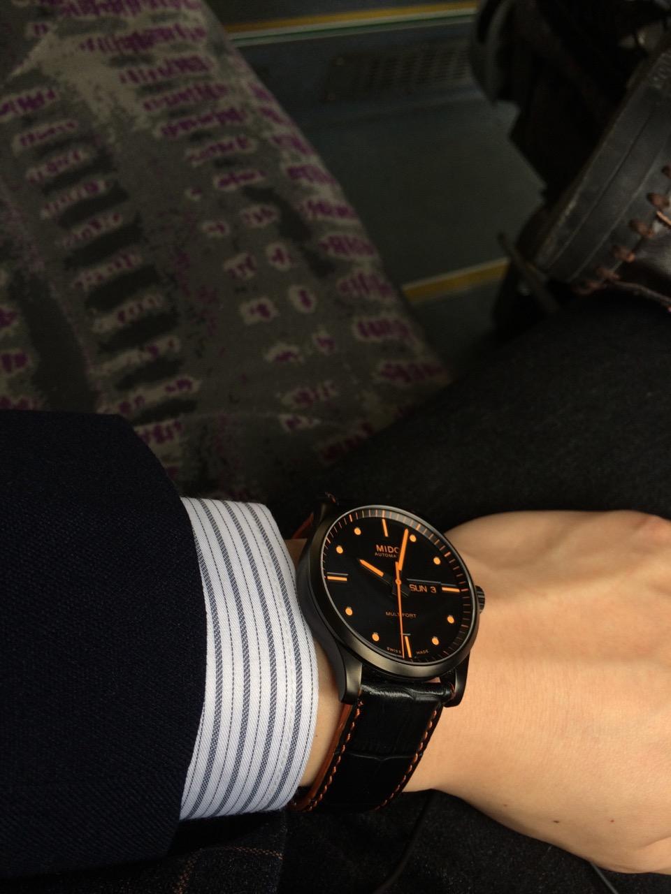 美度M005.430.36.051.22手表【表友晒单作业】维护宇宙和...