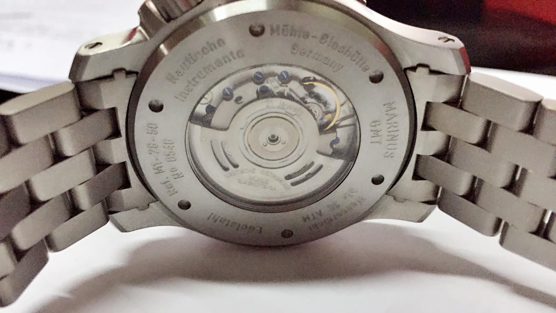 格拉苏蒂·莫勒M1-28-53-MB手表【表友晒单作业】包装非常的...