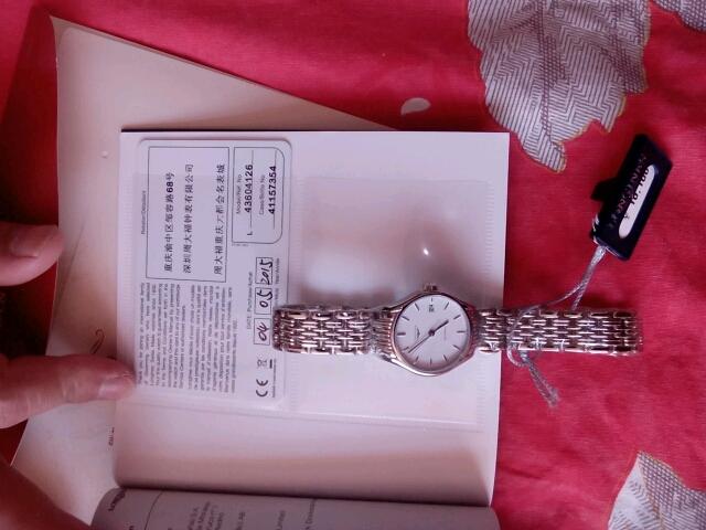 浪琴L4.360.4.12.6手表【表友晒单作业】老婆生日买...