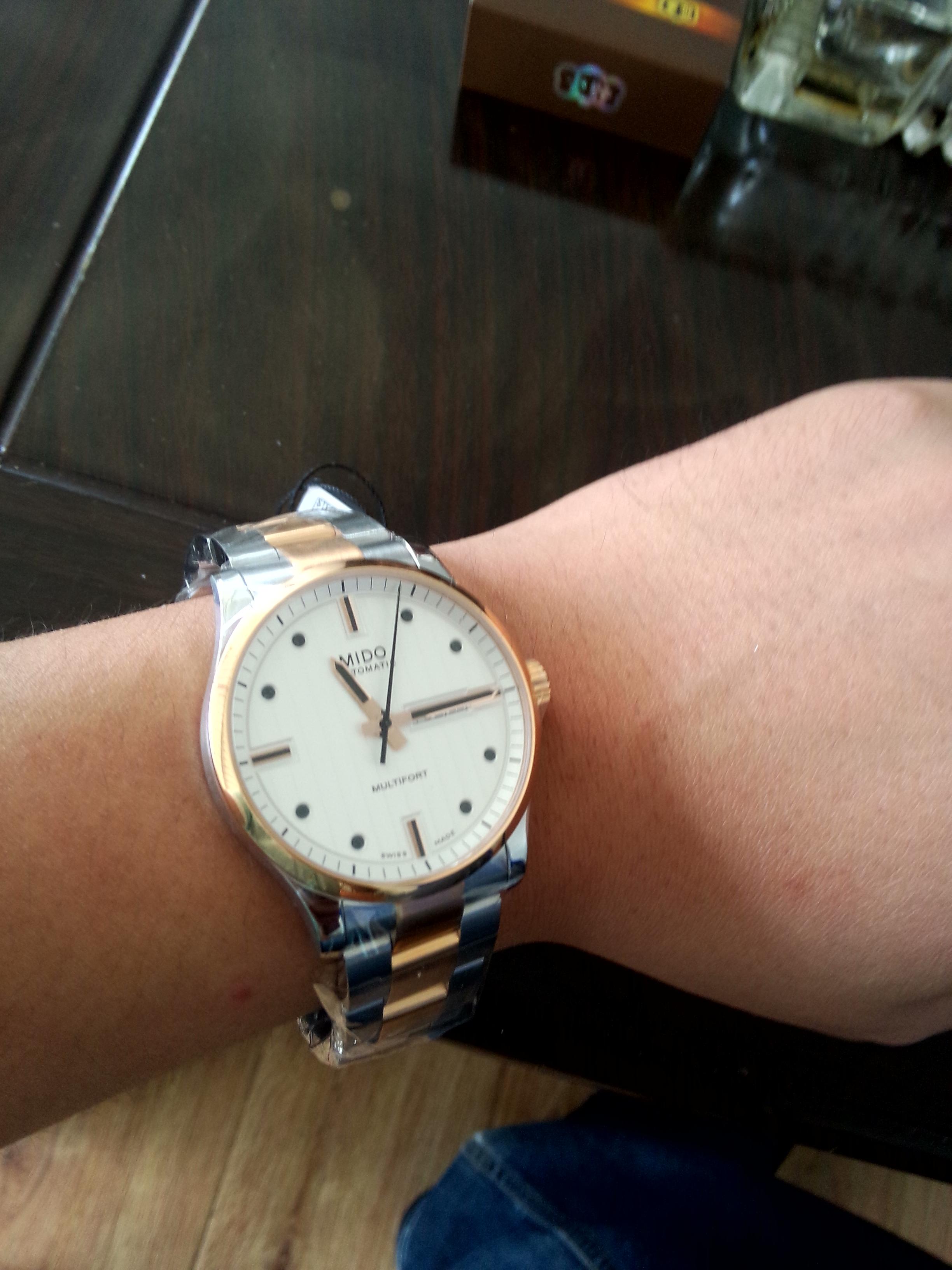美度M005.430.22.031.02手表【表友晒单作业】物流给力,...