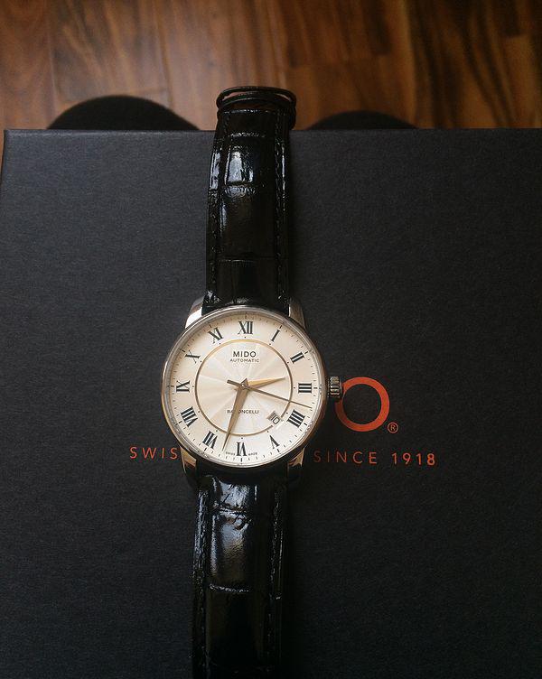 美度M8600.4.21.4手表【表友晒单作业】出太阳了,...