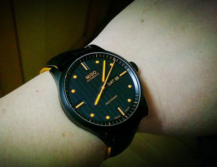 美度M005.430.36.051.22手表【表友晒单作业】这是男人的...
