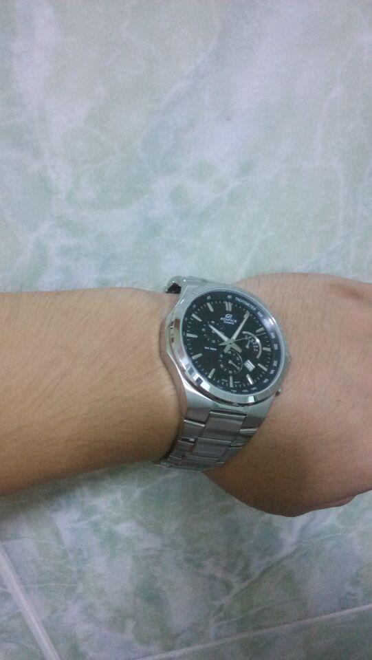 卡西欧EFR-500D-1AVUPF手表【表友晒单作业】时间很正确...