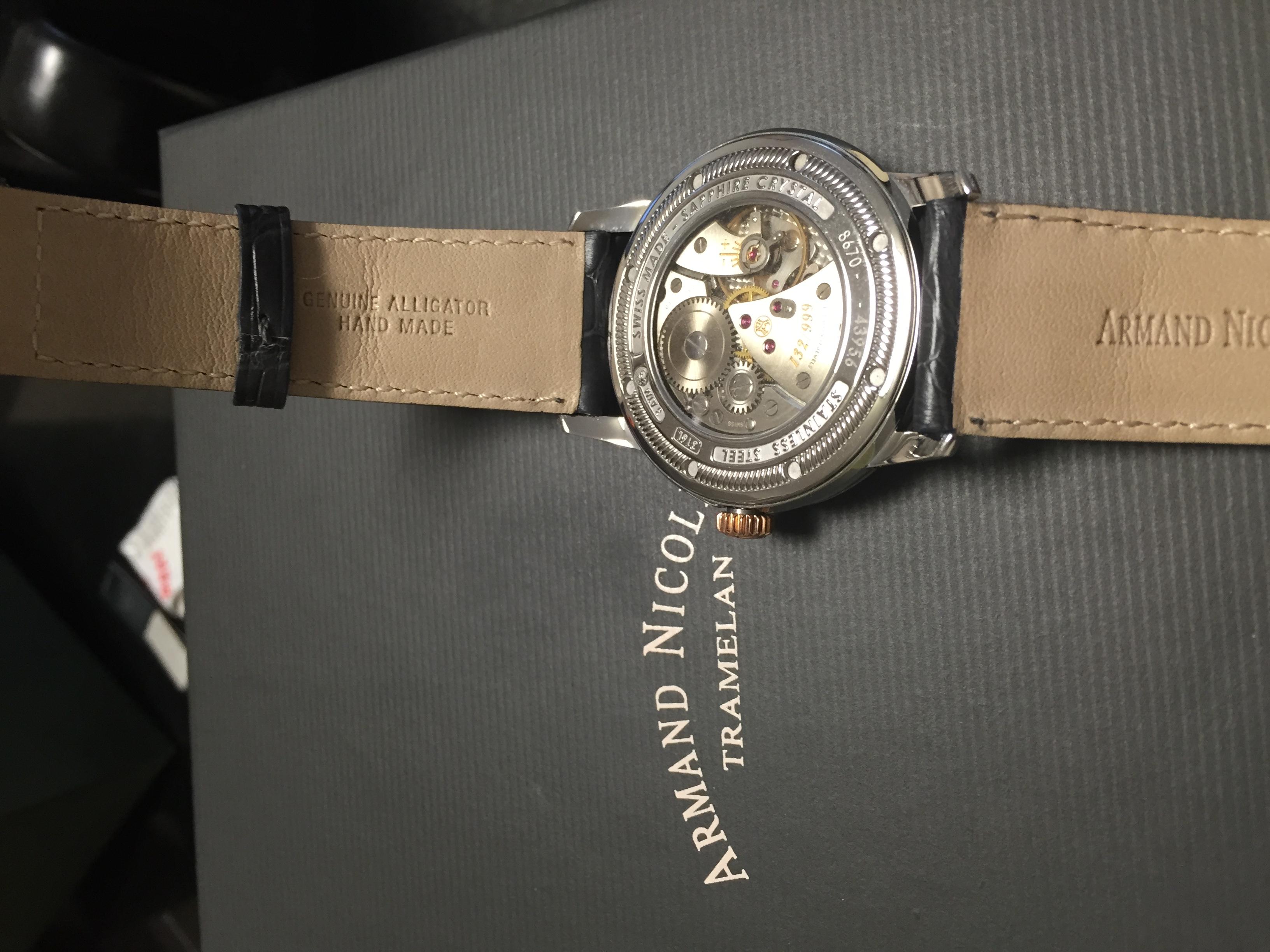 艾美达8670A-GR-P670GR1手表【表友晒单作业】本来想买L...