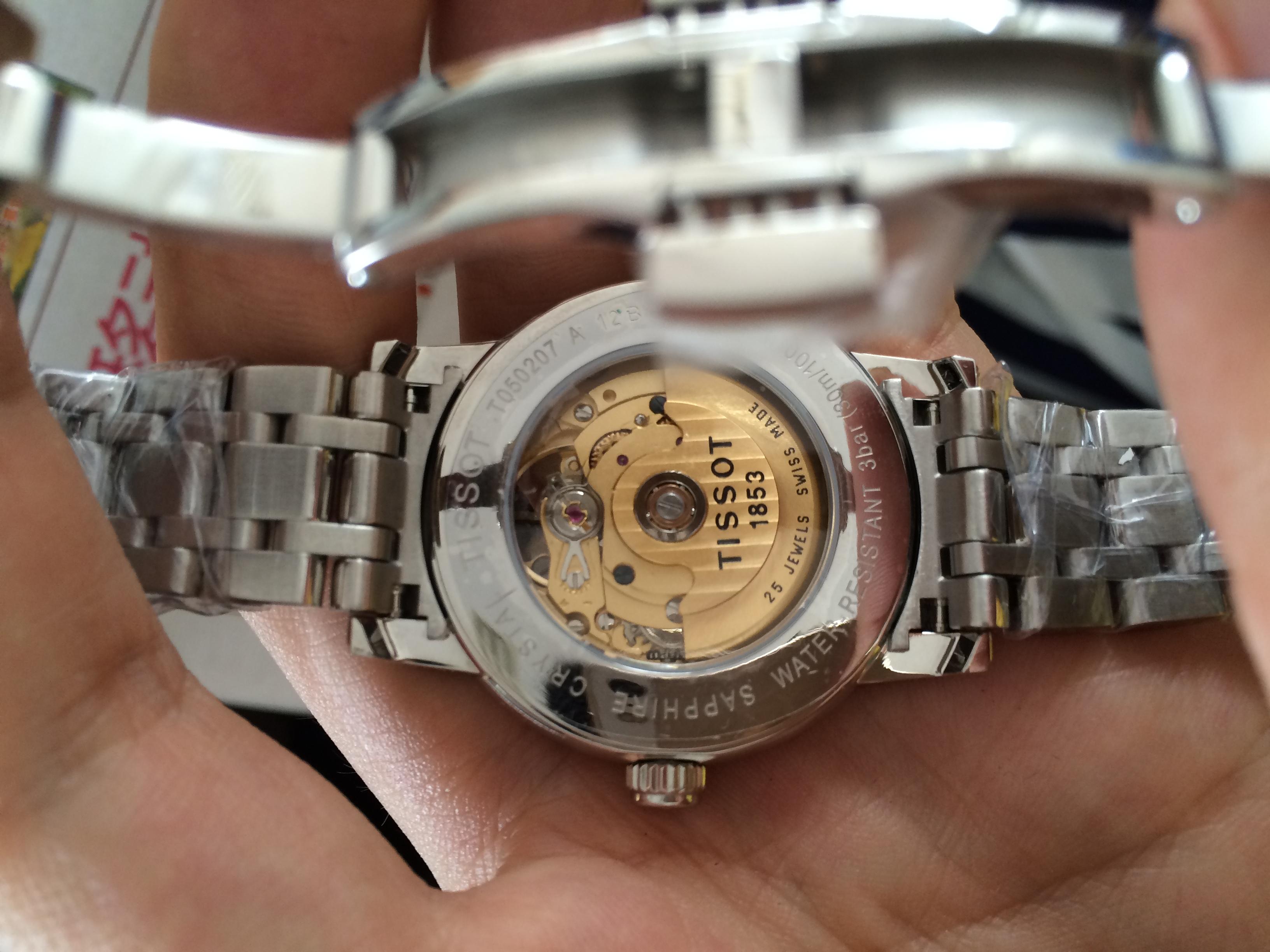 天梭T050.207.11.033.00手表【表友晒单作业】老婆戴了5...