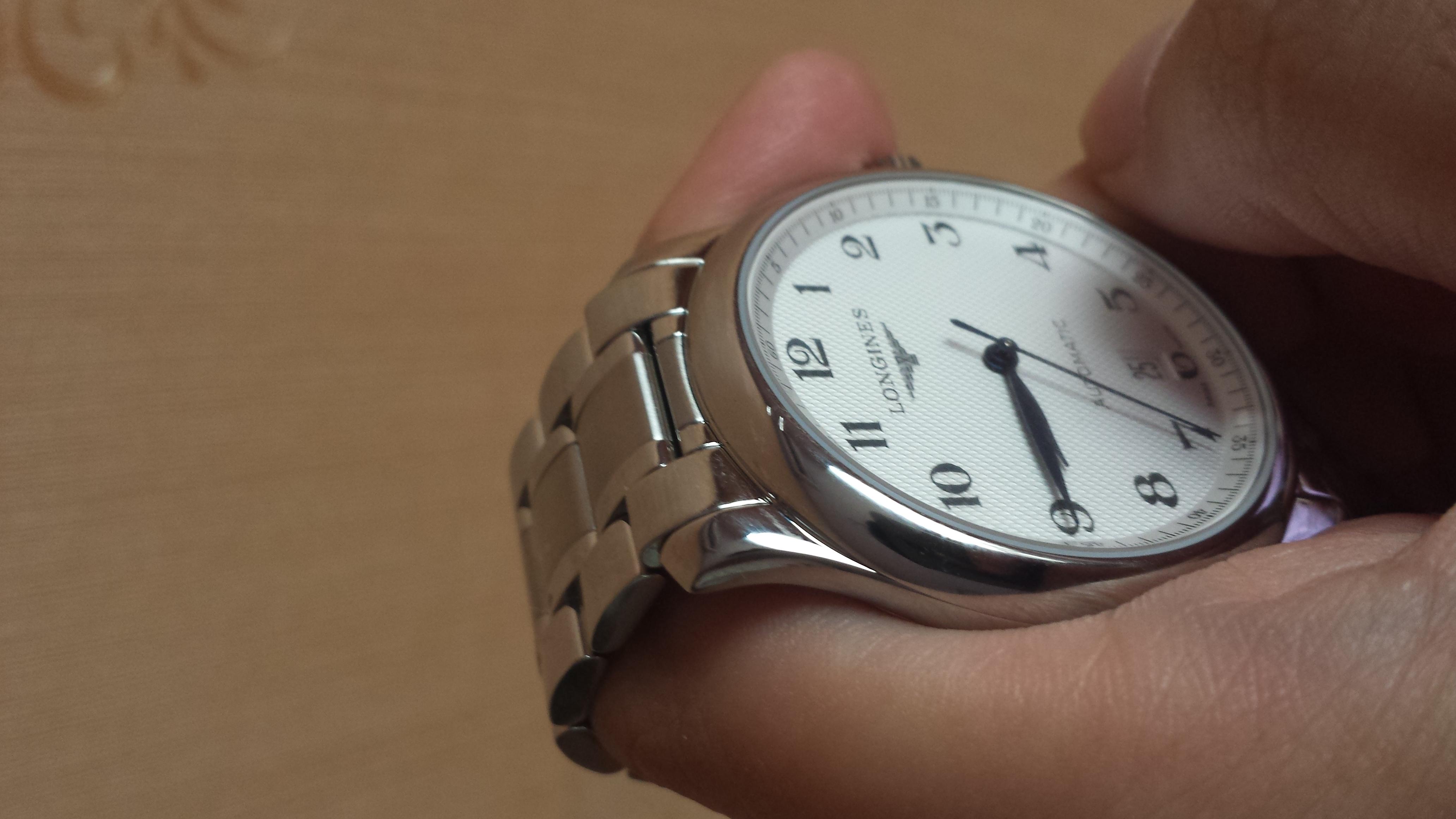 浪琴L2.628.4.78.6手表【表友晒单作业】22号定的...