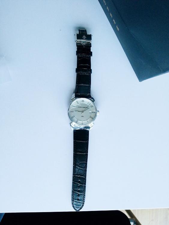 库尔沃3195.1CS.AR手表【表友晒单作业】很简单的设...