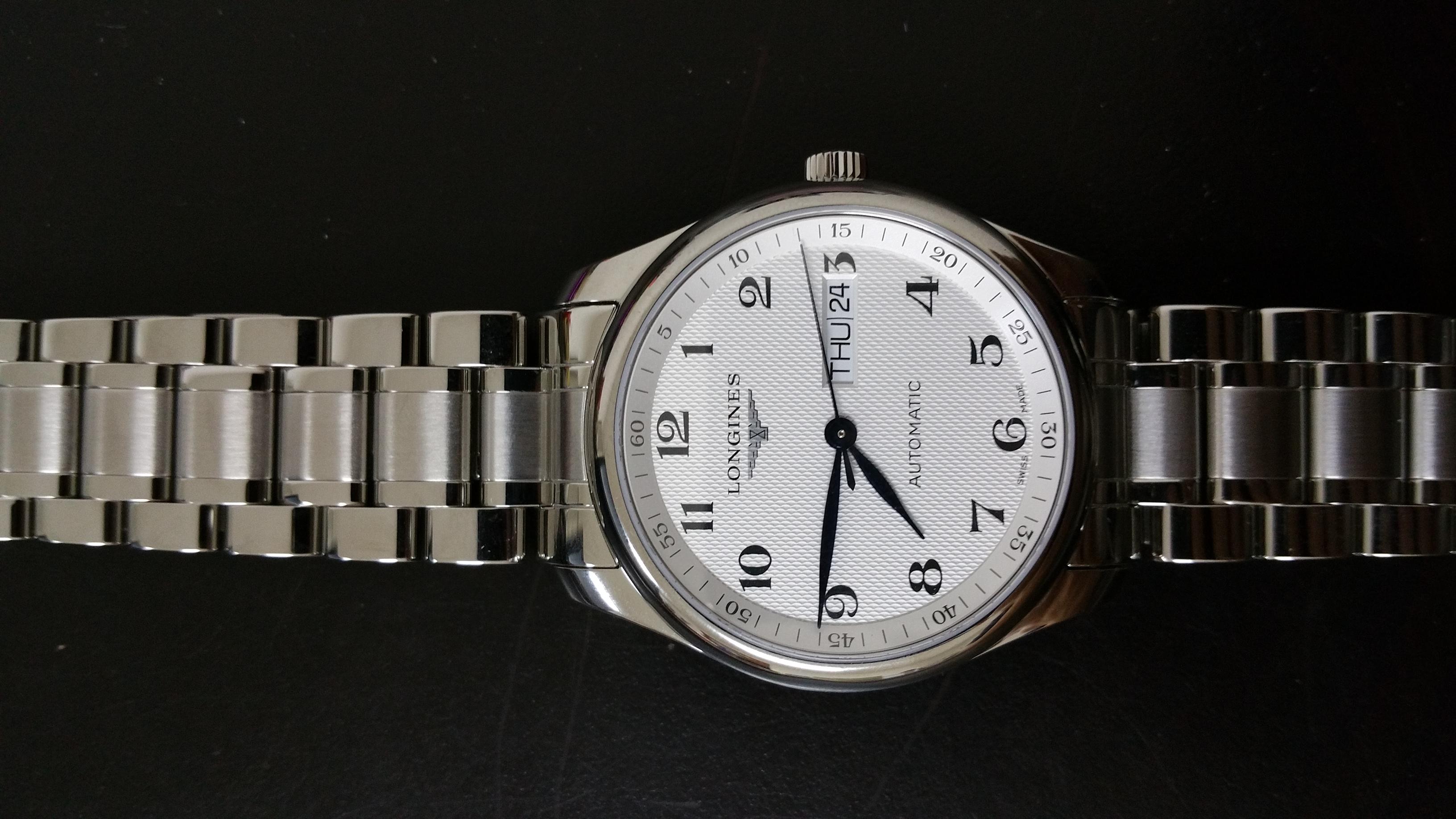 浪琴L2.755.4.78.6手表【表友晒单作业】手表很好,...