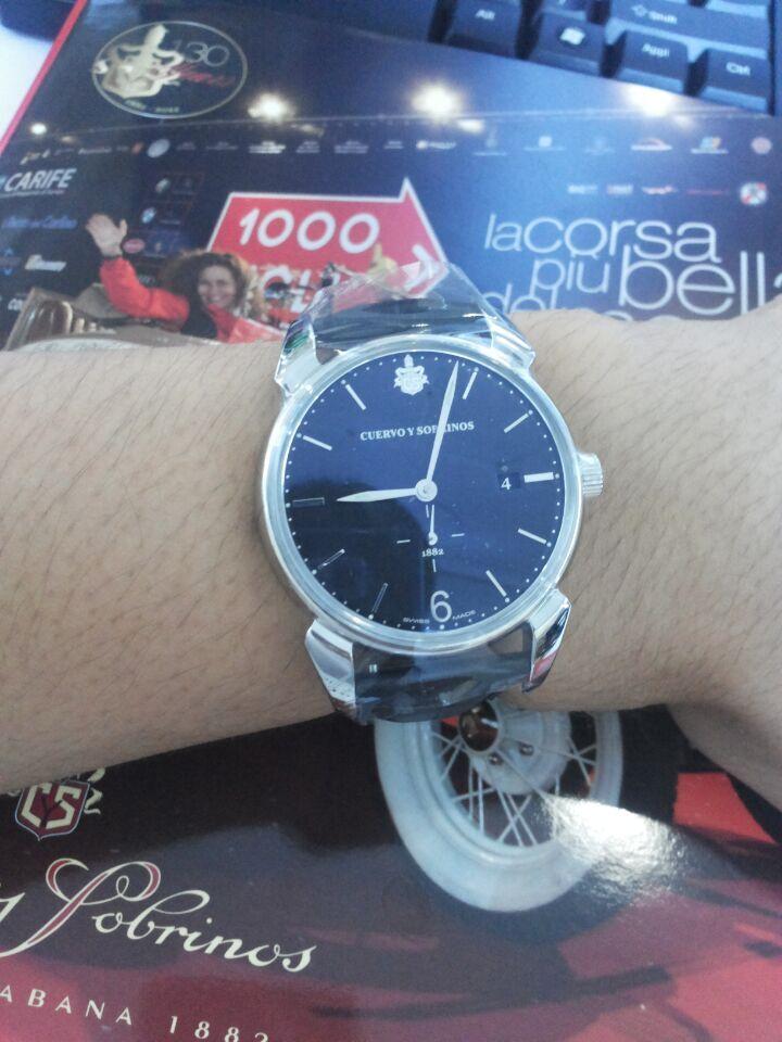 库尔沃3195.1N手表【表友晒单作业】一直都是c...